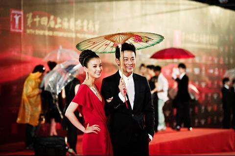 Actress Eva Huang and actor Raymond Lam